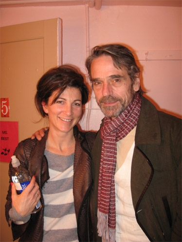 Eve Best and Jeremy Irons