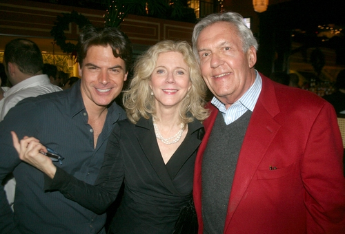 Troy Britton Johnson, Blythe Danner and Sonny Everett