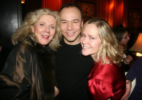 Blythe Danner, Danny Burstein and Rebecca Luker Photo