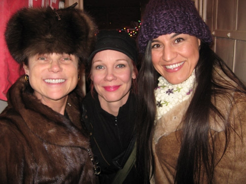 Tovah Feldshuh, Mariann Mayberry and Kimberly Guerrero