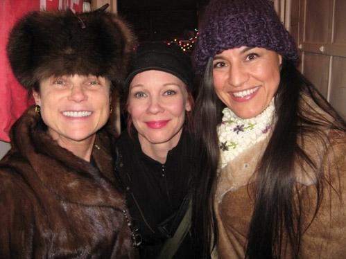 Tovah Feldshuh, Mariann Mayberry and Kimberly Guerrero