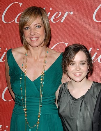 Allison Janney and Ellen Page