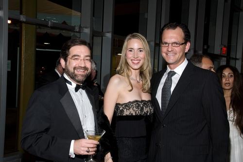 La Jolla Playhouse Managing Director Steven B. Libman with Gail Bryan and Ralph Bryan
