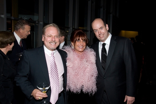Clinton Walters, Suzanne Figi and La Jolla Playhouse's new Artistic Director Christopher Ashley
