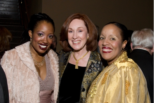 LaVonnya Fisher, Margret McBride and Cheryl Fisher