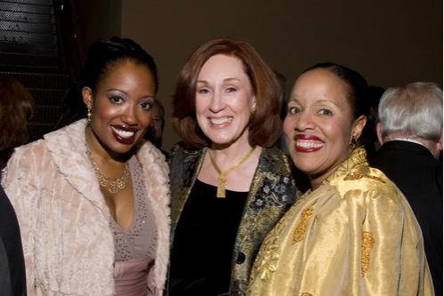 LaVonnya Fisher, Margret McBride and Cheryl Fisher