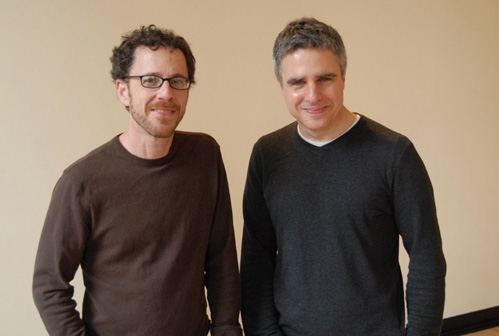 Playwright Ethan Coen and director Neil Pepe Photo