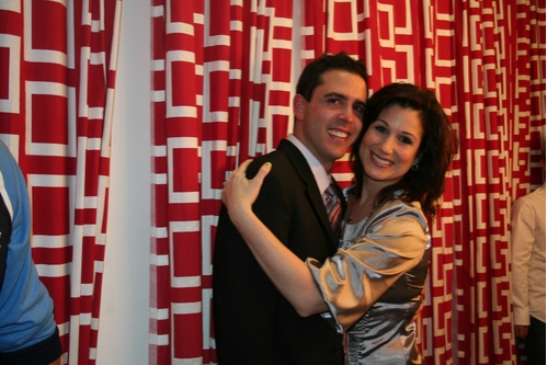 Composer and Lyricist Scott Alan and Stephanie J. Block