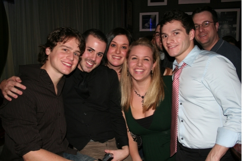 Jonathan Groff, Jimmy Moses, Ericka Adams, Mary Kate Metzer and Jesse Vargas