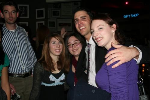 Brittany Mazza, Nicole Capatasto, Scott Alan and Justine Giannino