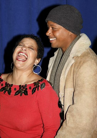 Debbie Allen and Terrence Howard