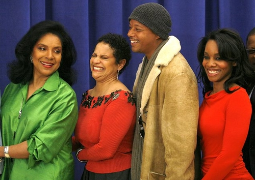 l-r: Phylicia Rashad, Debbie Allen, Terrence Howard and Anika Noni Rose