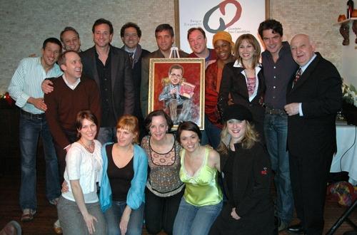 front row, l-r: Mara Davi, Stacia Fernandez, Jennifer Smith, Joanna Young, lyricist