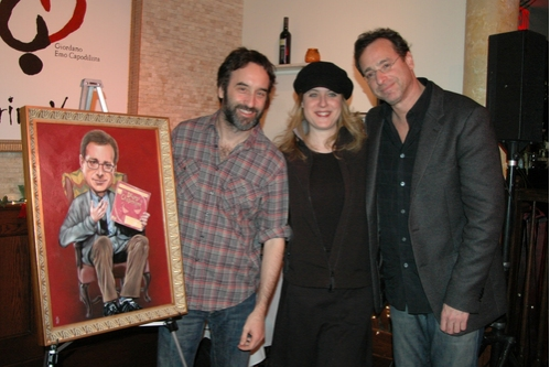 Don McKellar, Lisa Lambert and Bob Saget