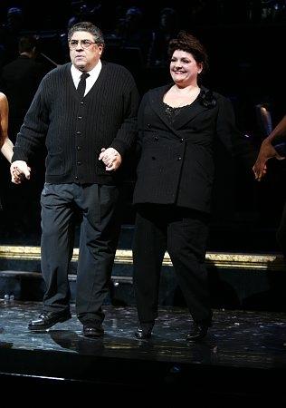 Vincent Pastore and Aida Turturro