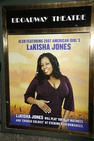 LaKisha Jones will star as Sofia during matinee performances