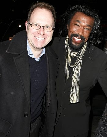 Producer Scott Sanders and Nick Ashford