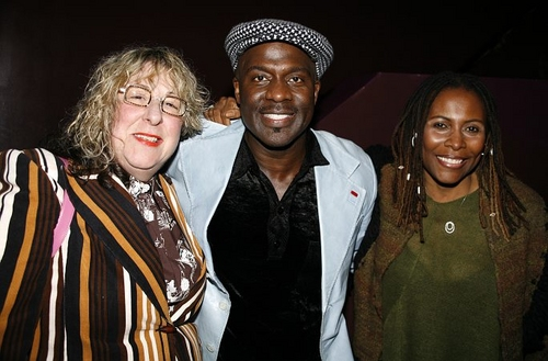 Allee Willis, BeBe Winans and Brenda Russell