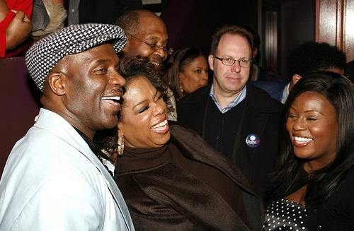 BeBe Winans, Oprah Winfrey and LaKisha Jones