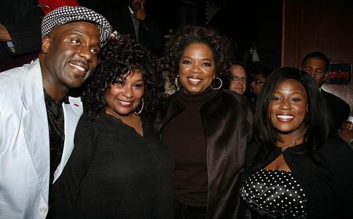 BeBe Winans, Chaka Khan, Oprah Winfrey and LaKisha Jones