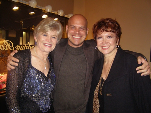 Teri Ralston, Producer Jayson Raitt and Donna McKechnie