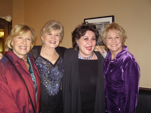 Hats! castmates: Teri Ralston with Joy Franz, Nora Mae Lyng and Pamela Myers
