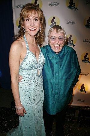 Jodi Benson and Pat Carroll  Photo