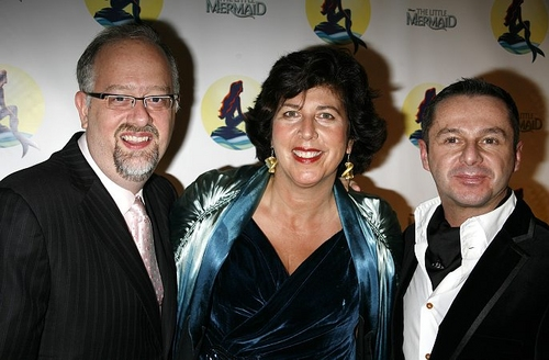 Doug Wright (Book), Francesca Zambello (Director) and Stephen Mear (Choreographer)