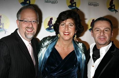 Doug Wright (Book), Francesca Zambello (Director) and Stephen Mear (Choreographer)