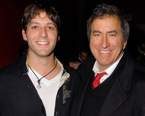 Cyrus Alexander and Kenny Ortega