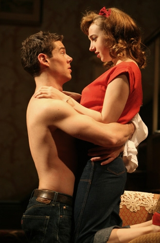 Brian Smith and Zoe Kazan