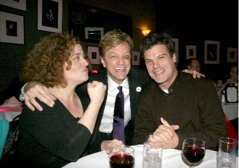 Mary Testa, Jim Caruso and Nat Chandler