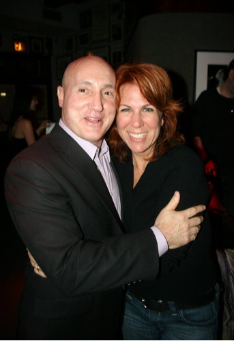 Birdland owner Gianni Valente and Victoria Shaw
