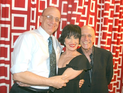Broadway Care's Tom Viola, Chita Rivera and Tony Stevens
