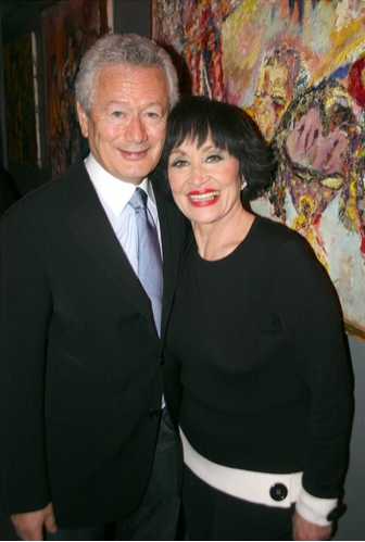 Steve Sorokoff and Chita Rivera