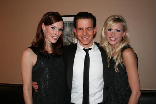 Emily Fletcher, Christian Hoff and Stephanie Gibson
