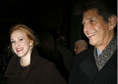 Katie Finneran and Peter Coyote