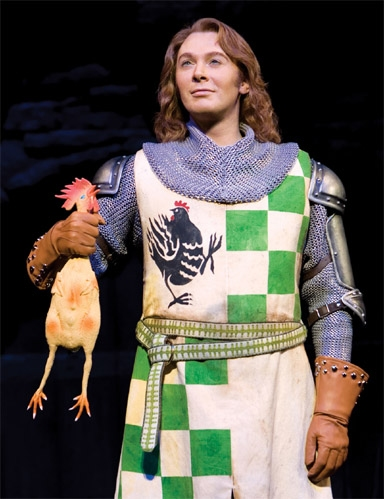 Spamalot's Clay Aiken on 'Entertainment Tonight' Tonight,  11/6