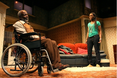 Joseph Marcell (Alfred) and Sharon Duncan-Brewster (Gemma Photo