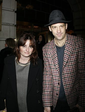 Anthony Edwards and guest  Photo