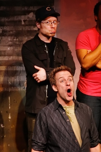 Anthony Rapp and Greg Reuter