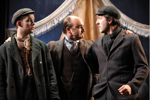 Russell Tovey, David Haig and Jem Wall