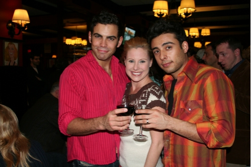 Matt Risch, Michelle Kittrell and Manuel Herrera