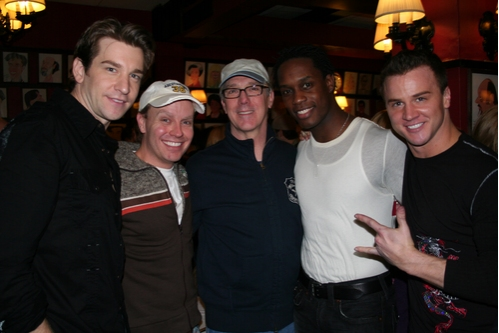 Andy Karl, Rusty Mowery,