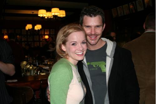 Becky Gulsvig and Denis Jones