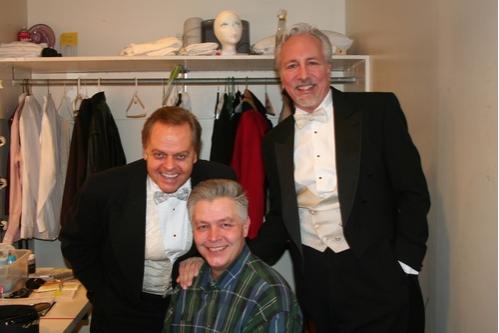 Gary Marachek, Dale Radunz and James Van Trueren