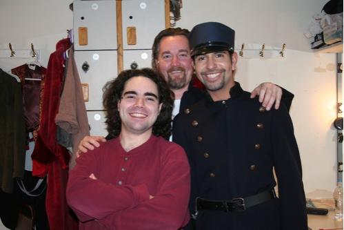 Josh Fingerhut, Duane McDevitt and Nicholas Davila