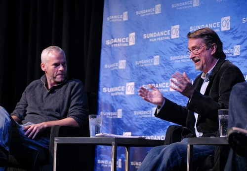 Martin McDonagh and Geoffry Gilmore Photo