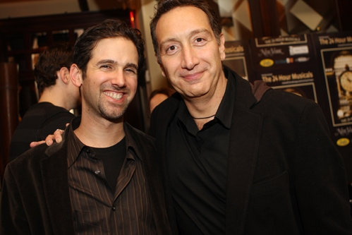 Exchange/Orchard Project Artistic Director Ari Edelson and Moises Kaufman