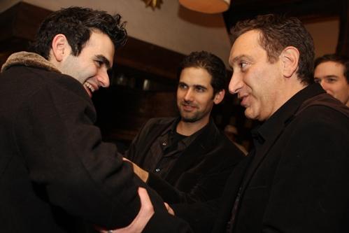 Joe Iconis, Ari Edelson and Moises Kaufman